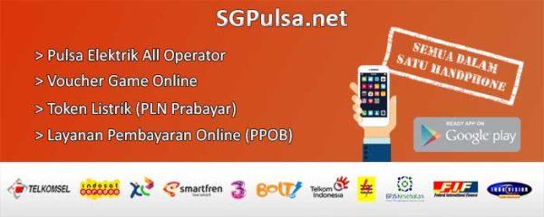 Banner SGPulsa Pulsa Elektrik Murah dan PPOB