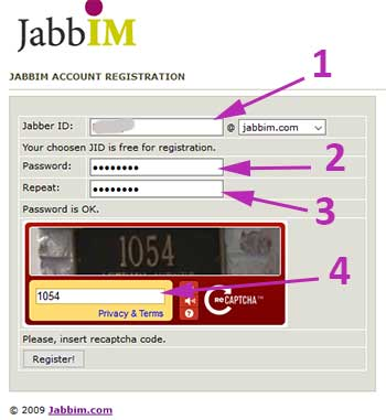 Cara Membuat Akun Jabber Jabbim
